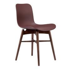 NORR 11 - Langue Original Stuhl Gestell dunkel gebeizte Buche