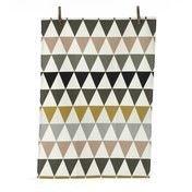 ferm LIVING - Triangle Geschirrtuch - multicolor/waschbar bei 40°C/70x50cm