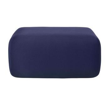 Muuto - Soft Blocks Pouf 80x60x42.5cm - mitternachtsblau/Stoff Febrik's Dotty Midnight