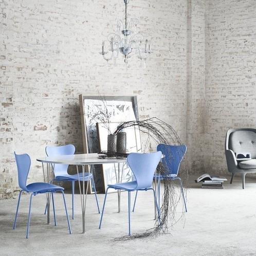 Fritz Hansen - Serie 7 Monochrome Stuhl
