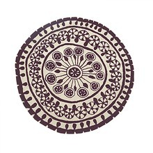 Nanimarquina - Rangoli New Zealand Wool Carpet Round
