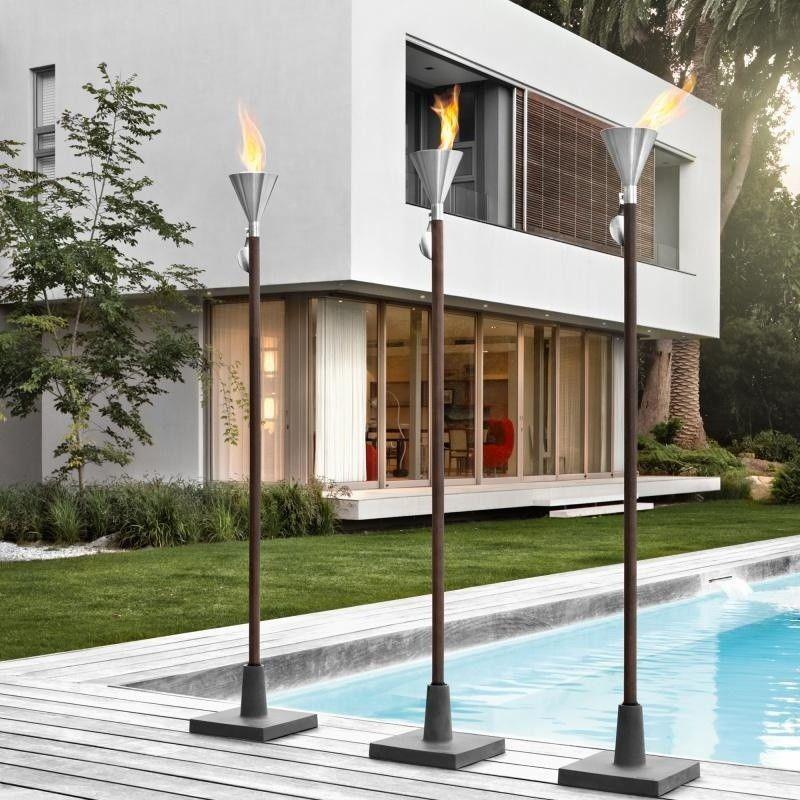 orchos gartenfackel f r brenngel blomus. Black Bedroom Furniture Sets. Home Design Ideas