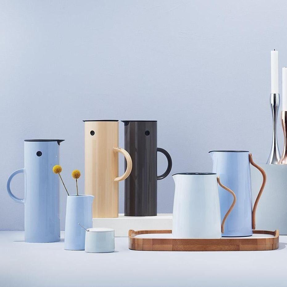 emma thermo milk jug 0 3l stelton. Black Bedroom Furniture Sets. Home Design Ideas
