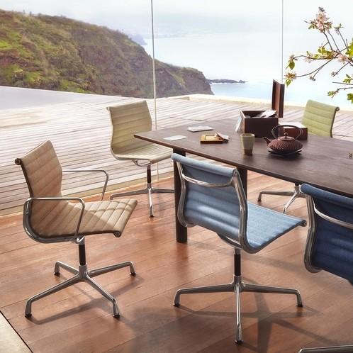 Vitra - EA 104 Aluminium Chair Armlehnstuhl