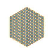 Moooi Carpets - Hexagon Teppich 350x400cm