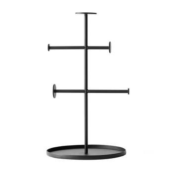 Menu - Norm Collector Schmuckhalter - schwarz/pulverbeschichtet/H 27cm, Ø16cm