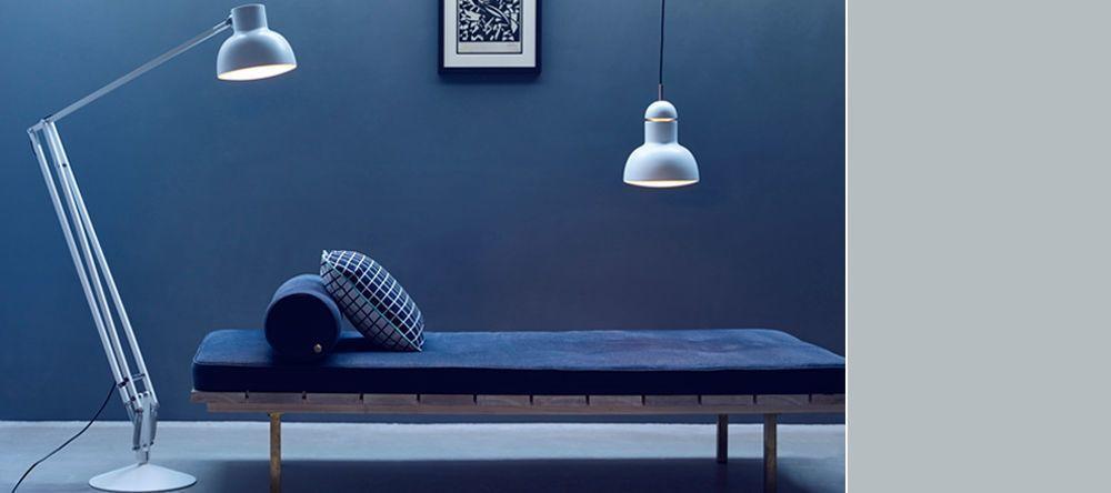 Anglepoise Type 75 Maxi Floor Lamp &  Pendant Lamp Alpine White
