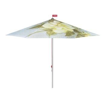 Fatboy - Fatboy Bouqetteketet Sonnenschirm - hellblau/gemustert/Ø350cm / H 265cm/Lieferung ohne Schirmständer