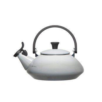 Le Creuset - Le Creuset Zen Wasserkessel  - perlgrau/für alle Herdarten geeignet/1.5l