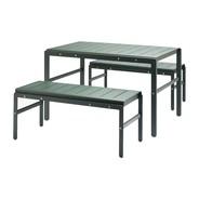 Skagerak - Reform Gartenset 3tlg. Tisch mit Bänken