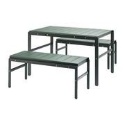 Skagerak - Reform Garden Set Table With 2 Benches