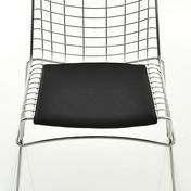 Magis - Strings Chair Sitzkissen - schwarz/Trevira-Stoff