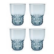 Kartell - Jellies Family Weingläser-Set 4tlg. - blau/transparent