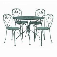Fermob - 1900 Garden Set 4 Chairs