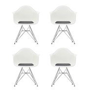 Vitra - Promotion Set Eames Plastic Armchair DAR Set of 4
