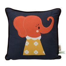 ferm LIVING - Elle Elephant Kids Cushion 30x30cm