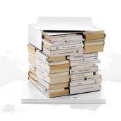 Opinion Ciatti - Ptolomeo X4 Short - white/lacquered/3 shelves/13cm space