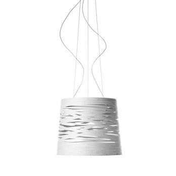 Foscarini - Tress Grande Pendelleuchte - weiß/H 41cm/Ø 48cm