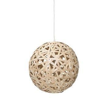 - Bamboo Ball Pendelleuchte  -
