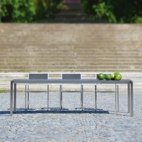 Jan Kurtz - Lux Excell Keramik-Gartentisch ausziehbar