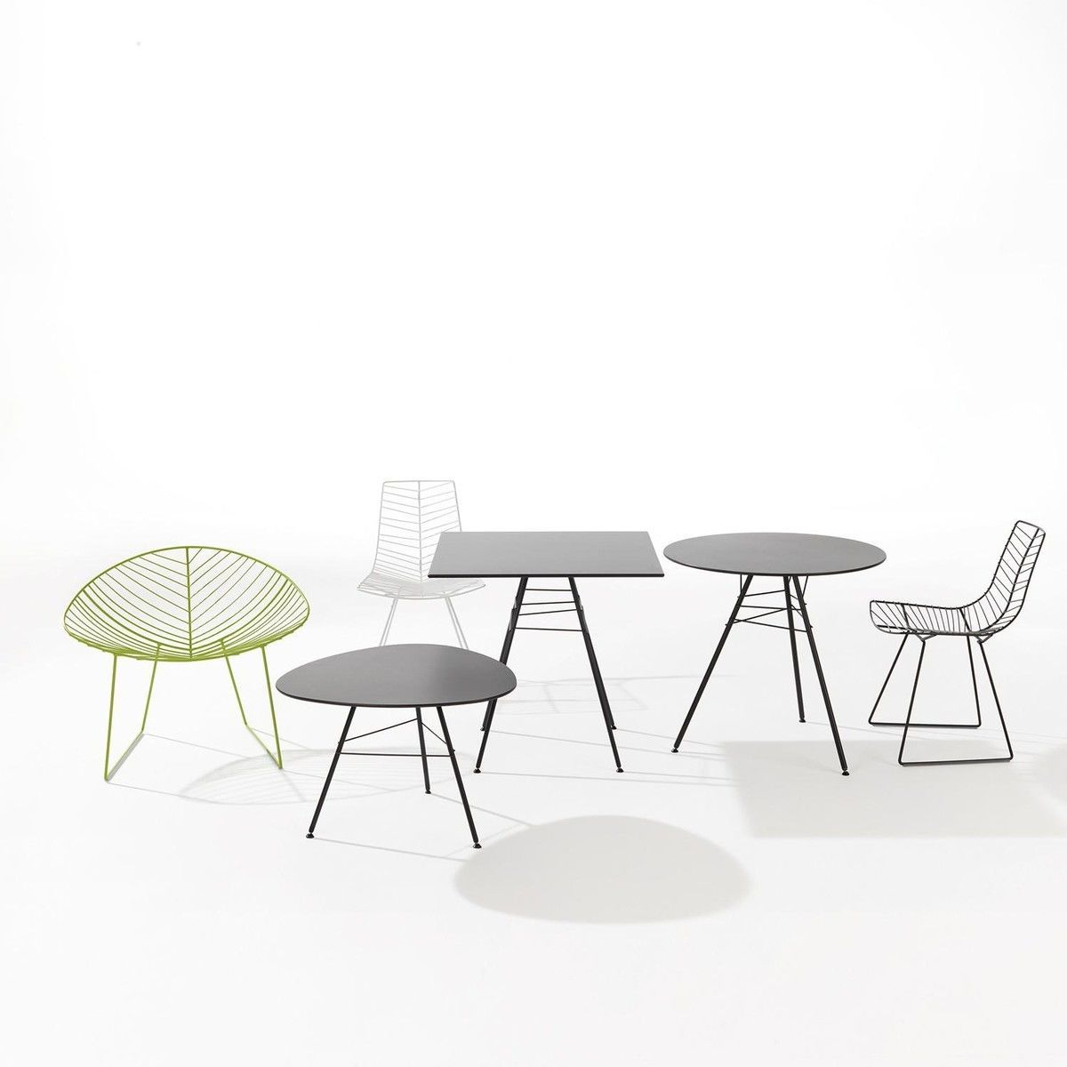 Leaf stackable chair arper for Chaise candie life