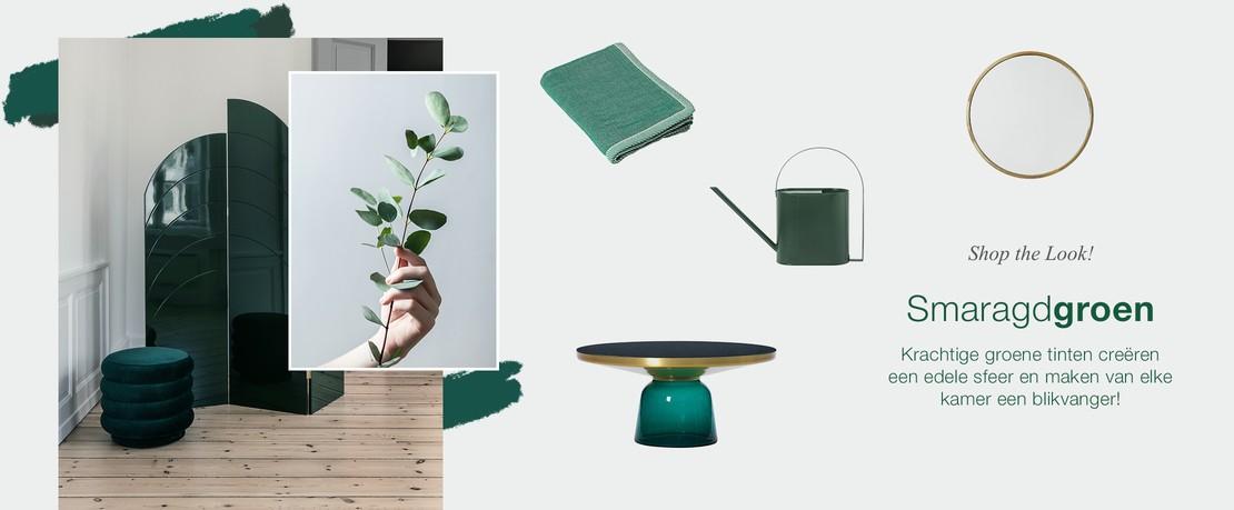 Presenter ShopTheLook Smaragdgruen NL