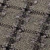 GAN - Garden Layers Small Roll Checks Kissen - grün/Handwebstuhl/LxBxH 78x25x25cm