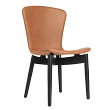 Mater - Shell Chair Black Oak