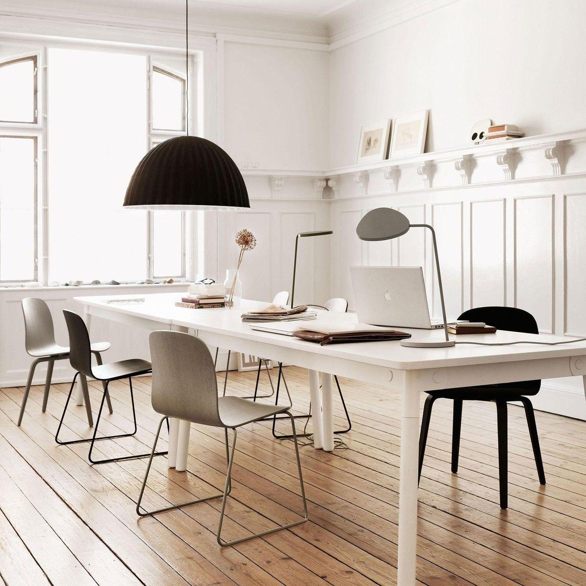 Visu chair with wood frame muuto for Studio design sillas