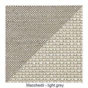 Moooi - Bart Sessel | Ausstellungsstück - hellgrau/Stoff Macchedil light grey/inkl. Kissen/alle Bezüge abnehmbar/Einzelstück - nur einmal verfügbar!