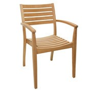 Skagerak - Chaise de jardin avec accoudoirs Ballare