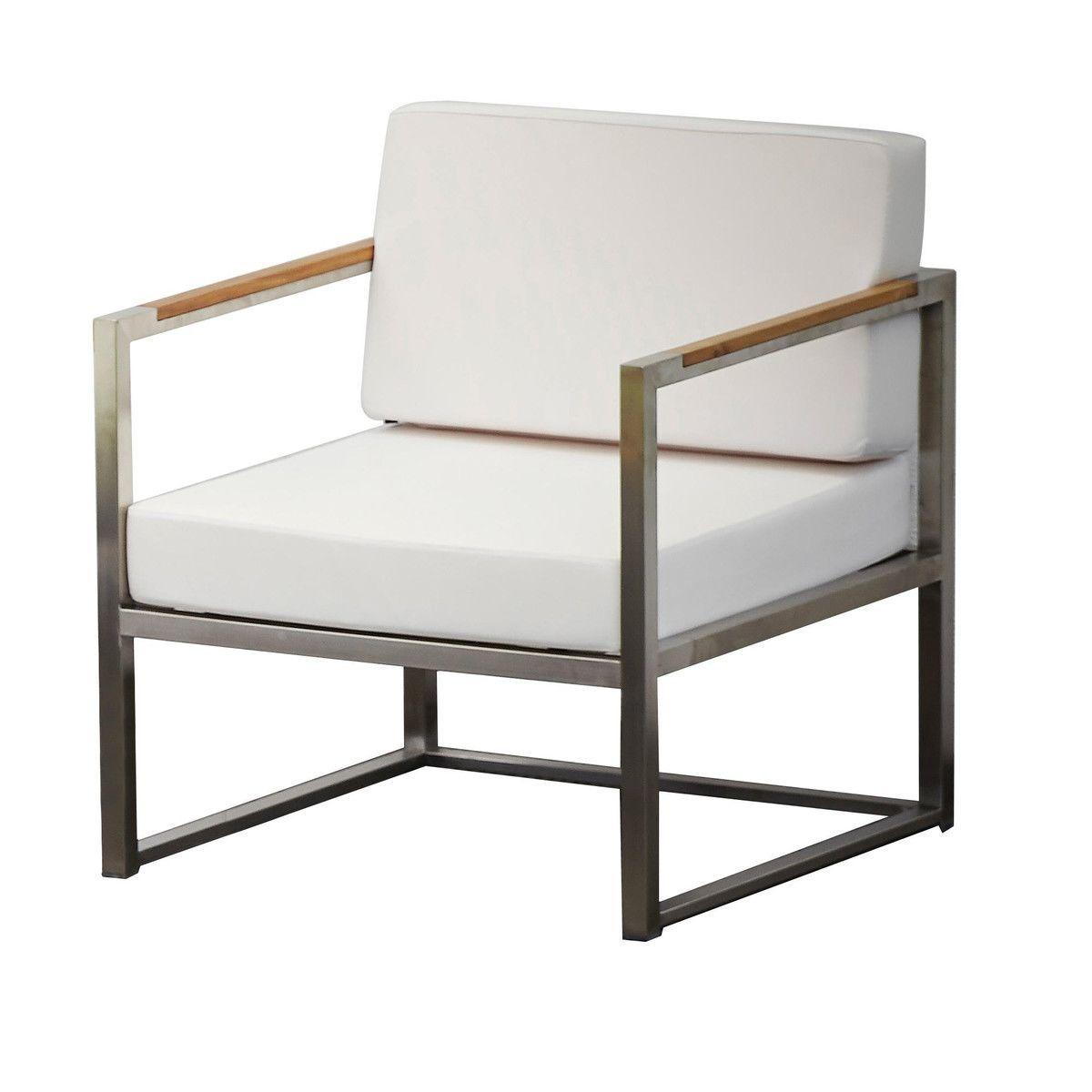 jan kurtz lux lounge silln exterior blancopatas de - Sillon Exterior