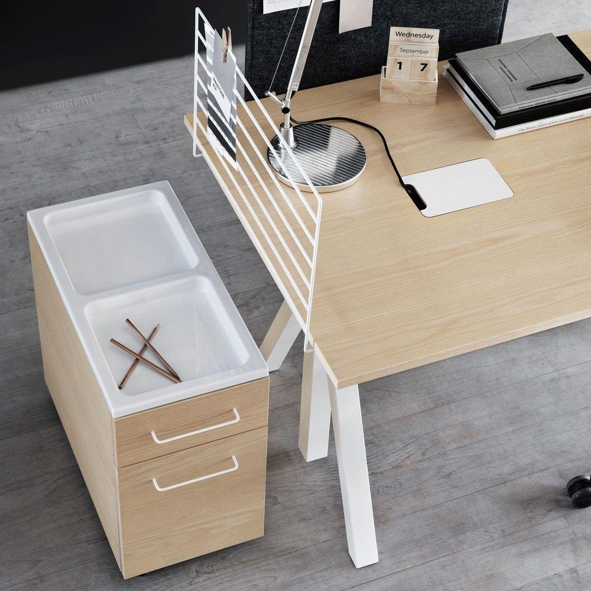 string works desk schreibtisch string. Black Bedroom Furniture Sets. Home Design Ideas