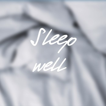 Spruch: Sleep Well