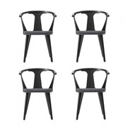 &tradition - In Between Chair SK2 Upholstered Set of 4