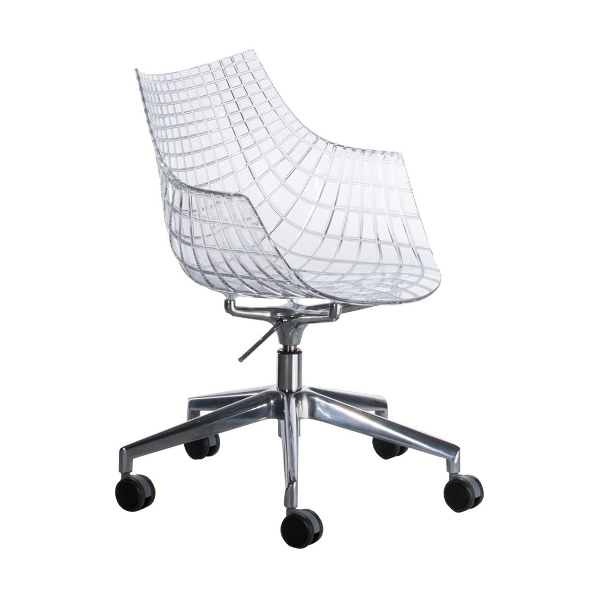 Chair With Wheels >> Meridiana Swivel Chair With Wheels
