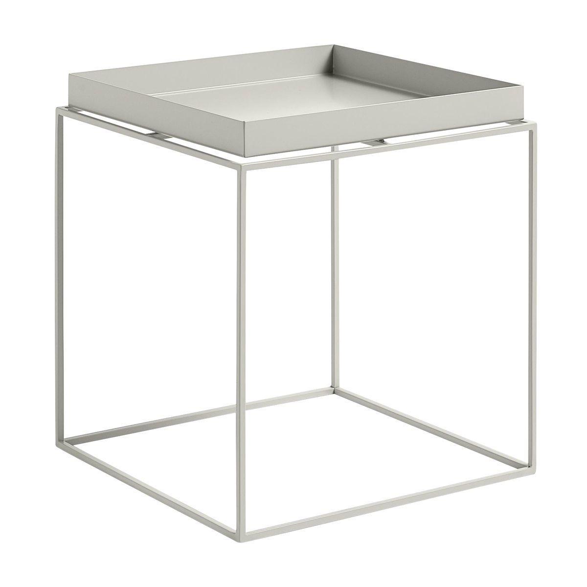 Superb HAY   Tray Table Side Table   Warm Grey/40x40x44cm