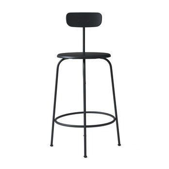 Menu - Afteroom Counter Chair Hocker - schwarz/pulverbeschichtet/HxBxT 92x46x54cm