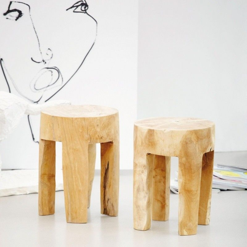 java stool round jan kurtz. Black Bedroom Furniture Sets. Home Design Ideas