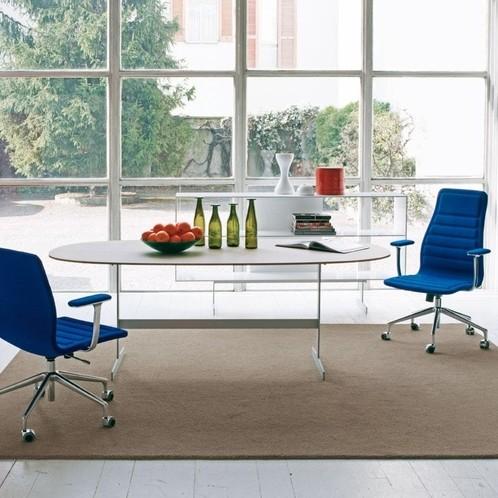 Cappellini - Lotus Low Bürostuhl mit Rollen