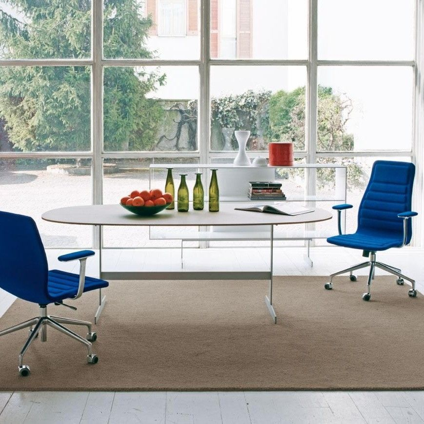 Ambient Direct cappellini office chairs lotus low office chair with wheels