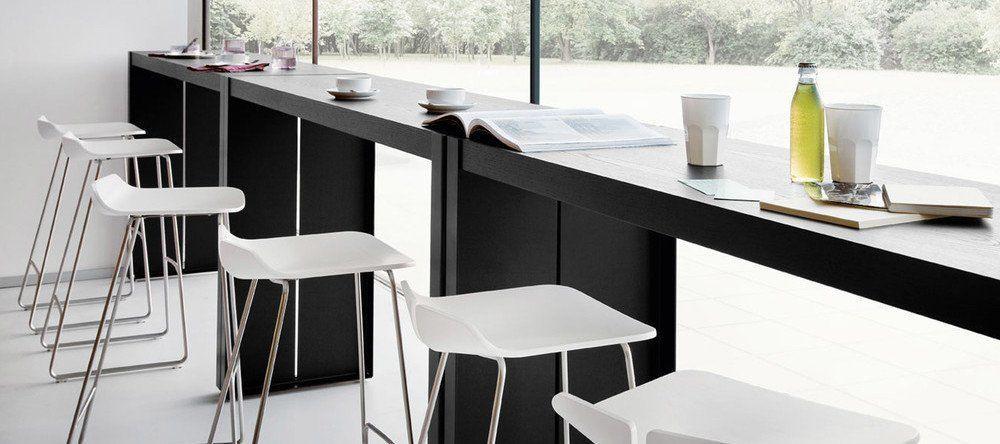 Einfache Dekoration Und Mobel Lem Barhocker Von La Palma Ein Designklassiker 2 #22: Hersteller LaPalma Link-Barhocker
