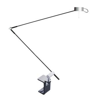 Radius - Absolut Lighting Schreibtischleuchte mit Klemme - chrom/matt/mit Sensordimmer/touch-0-matic®/H 54-108cm