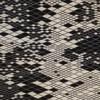 Nanimarquina - Losanges II Teppich - schwarz/weiß/afghanische Wolle/165x245cm