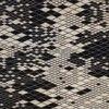 Nanimarquina - Losanges Carpet - black/white/afghan wool/165x245cm
