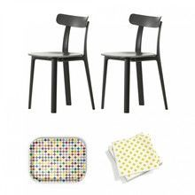 Vitra - Aktionsset All Plastic Chair Stuhl