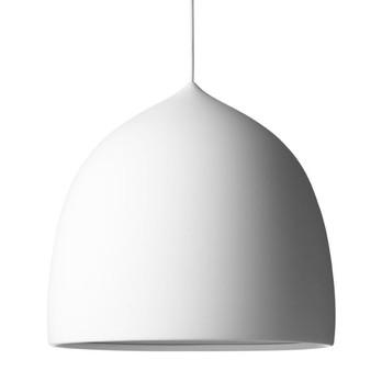 Lightyears - Suspence P2 Pendelleuchte - weiß/matt lackiert/Kabel weiß/Baldachin weiß/H 36.1cm/Ø 38.5cm/Kabellänge 3m