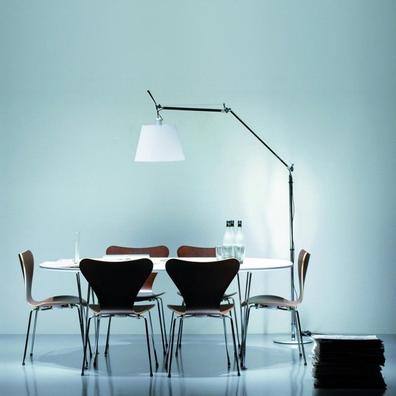 tolomeo mega terra vloerlamp met dimmer artemide. Black Bedroom Furniture Sets. Home Design Ideas