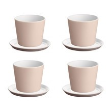 Alessi - Tonale Set Mocha Mug and Saucers