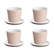 Alessi - Tonale Set Mocha Mug and Saucers